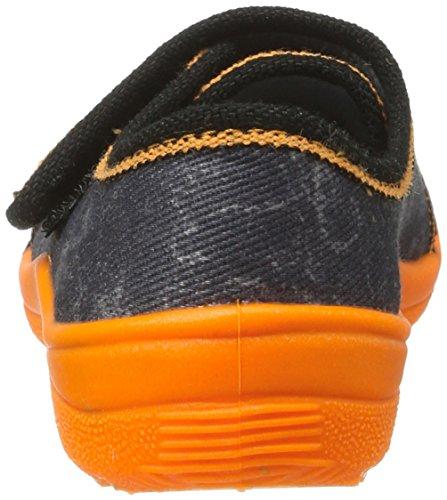 Fischer Alex, chaussons d'intérieur garçon Mehrfarbig (orange/grau)