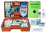 Erste-Hilfe-Koffer M4+ Gastro für Betriebe Din/EN 13157 inkl. Augenspülung +...