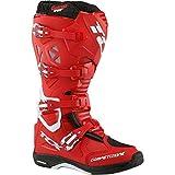 TCX Comp Evo Michelin Enduro Off Road MX MotoCross Boots - Red White 46
