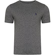 Ralph Lauren Camiseta - Básico - Cuello Redondo - Manga Corta - Para Hombre