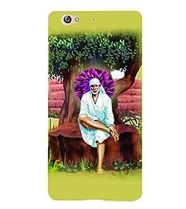 PrintVisa Religious & Spiritual Sai Baba 3D Hard Polycarbonate Designer Back Case Cover for Gionee S6