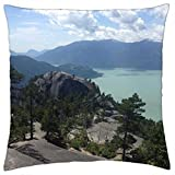 iRocket - squamish chief in british colombia - Throw Pillow Cover (24