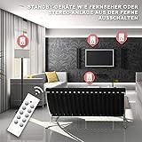 benon B2112 Funksteckdosen-Set mit Fernbedienungen, 5er Set, 2300W für Licht & Haushaltsgeräte, bis 30m Reichweite Vergleich