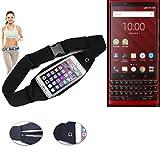 K-S-Trade® Belt Bag Shoulder Bag Waist Bag For Blackberry