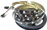 APA102C APA102 Digitales Programm Adressierbares RGB-Streifenlicht 30 LEDs/Pixel / M 5050 SMD LEDs DC5V (5M schwarze PCB IP20)