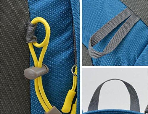 Zaino da viaggio borse alpinismo zaino esterno ultraleggero 40L in bicicletta ( Colore : Vino rosso , dimensioni : 40L ) Blu