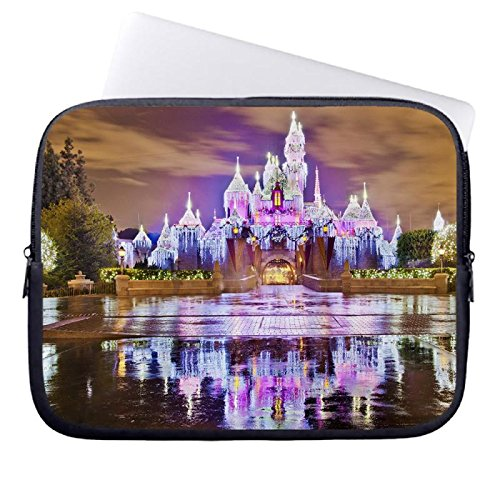 hugpillows-laptop-hulle-tasche-sleeping-beauty-castle-christmas-at-disneyland-notebook-sleeve-cases-
