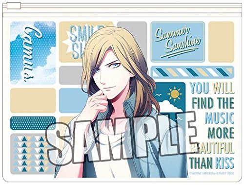 Uta no Prince sama Full color clear pouch SMILE SHOT Ver. Kamyu From Japan New