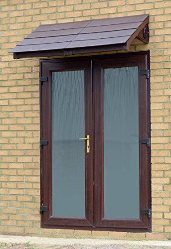 chalet-style-pensilina-rain-shelter-incorniciato-piastrelle-mattonelle-scelta-del-colore-marrone-mar