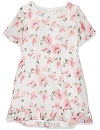 Yumi Dobby Floral Bell Sleeve Dress (Multi), Vestido para Niños