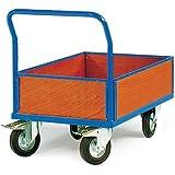 Plattformwagen mit umlaufender Bordwand verschiedene Größen VAR V, Ladeflächen Maß:1200x800