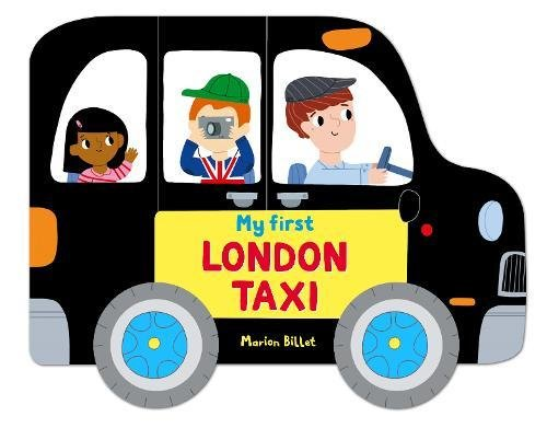 Whizzy Wheels: My First London Taxi por Marion Billet