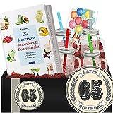 Geschenkidee 65. Geburtstag | Geschenkidee Gesundheit | 65 Geburtstag für Mama