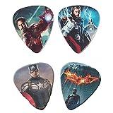 4 Piece Superhero Lead Guitar Picks Of 0.96 - Best Reviews Guide