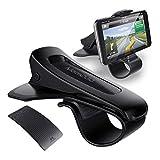 Mate2GO Support Téléphone Voiture avec Tapis Antidérapant, Support Auto HUD sur Tableau de Bord avec Mat Collant pour Smartphone DE 3.0'-6.5' iPhoneX/8/8 Plus, Samsung, Huawei