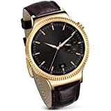 Huawei - Watch Elite - Montre pour Smartphone - Cuir Or