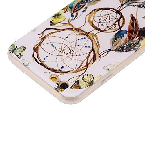 Coque iPhone 6 6S (4,7 Pouces) ,BONROY® Ultra-Mince Soft Silicone Etui de Protection pour Modèle de peinture Souple Gel TPU Bumper Anti-Scratch Housse Case Cover Pour iPhone 6 6S (4,7 Pouces) Carillons éoliens