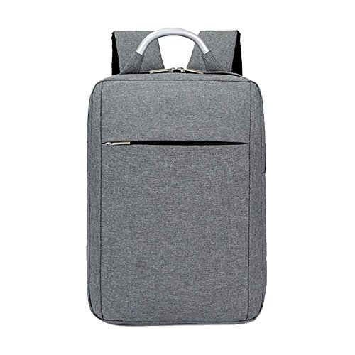DEjh Laptop-Rucksack für die Arbeit beim Bergsteigen mit großem Fassungsvermögen für den Einsatz im Büro (Farbe : Gray)
