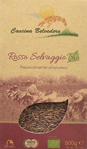 Cascina Belvedere Riso Rosso Selvaggio Integrale - 500 gr - [confezione da 2]