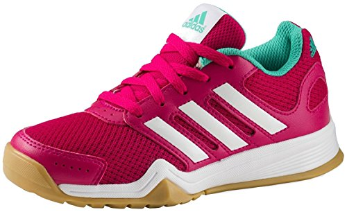 adidas Interplay Lace K - bopink/ftwwht/shkmin Black/Black/Black