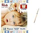 IRPot - 6 PACCHI PANNOLINI TRUDI BABY CARE DRY FIT (TG.4 MAXI 7-19 KG)
