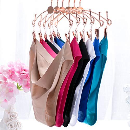 Sharplace Damen Hipster Nahtlose Bikini Slip Bikinihose Badeslip Unterwäsche Panty, Größe und Farbe Auswahl - Rosenrot, S - 9