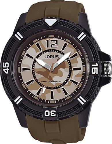 Lorus Reloj Analogico para Hombre de Cuarzo con Correa en Silicona RRX47FX9
