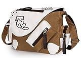 siawasey Spiel Neko atsume Anime Cosplay Handtasche Messenger Bag Rucksack Schultertasche