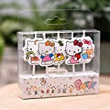 Kitty Shape Party Candle/Birthday Candle/Theme Birthday Candle/Cake Candle/Cute Shape Kitty (5 Pcs Candle Set)