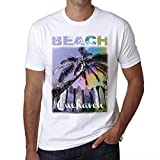 One in the City Cuxhaven, Beach Palm, herren t-shirt, beach palme tshirt, tshirt geschenk