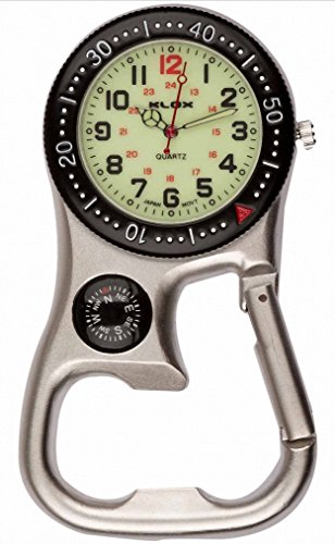 silver-black-luminous-clip-on-carabiner-fob-watch-with-compass-for-doctors-nurses-paramedics-chefs