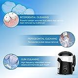 Munddusche Mit UV-Sterilisation , XPretty Professionelle Mundduschen 600 ml Wassertank , Einstellbaren Druckeinstellung und 7 funktionale Jet-Düsen, CE, FDA Zertifiziert