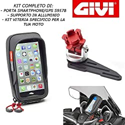 Givi - S957B + S903A + 01VKit spécifique pour Honda Forza 300 2019