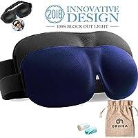 Schlafmaske OriHea 2er-Pack Augenmaske für besseren Schlaf, 3D konturierte bequeme ultraweiche Schlafbrille, Augenbinde... preisvergleich bei billige-tabletten.eu