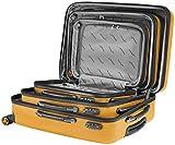 Packenger Velvet Koffer, Trolley, Hartschale  3er-Set in Orange, Größe M, L und XL - 10