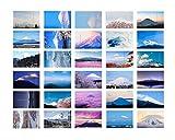 Kreative landschaftliche Postkarte Geschenkkarten Postkarte - 30 PCS