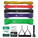 ODOLAND Pull-ups Bande Kit - 9 in 1 Resistenza Bands Kit - Totalmente 315 lbs Band per Lo...