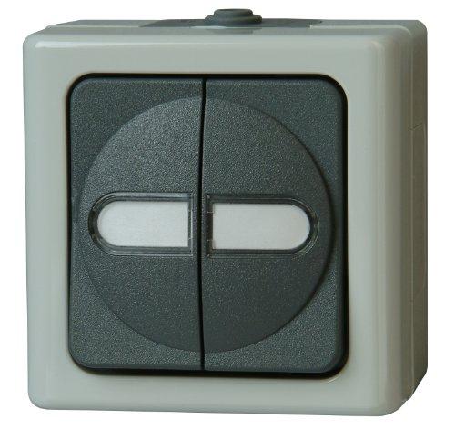 Kopp 560556003 Blue Electric Serienschalter beleuchtet -