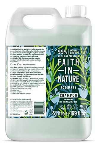 Faith in Nature Rosemary Bulk Shampoo 5Litre