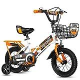12' 14' 16' 18' Bicicleta Infantil niño y niña   12 14 16 18 Pulgadas   A Partir de 3 años   V-Brake y Freno de contrapedal   Modelo BMX 2019,Orange,16IN