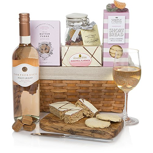 Pretty In Pink Gift Hampers For Her- Hamper For Her - Luxury Gift Basket For Any Occasion Including Birthdays!