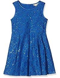 Yumi Sequin Lace Box Pleated, Vestido para Niñas