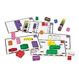 Learning Resources- Set para adquirir soltura en matemáticas Cubos MathLink, Color (LSP4299UK)