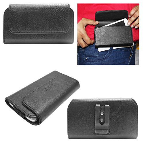 DMG Durable Cell Phone Pouch Carrying Case with Belt Clip Holster for Apple iphone 4 4S (Black)  available at amazon for Rs.299
