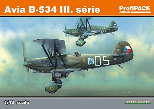 534 Serie (Unbekannt Eduard Plastic Kits 8191 - Modellbausatz Avia B-534 III Serie Reedition Profipack)