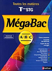 Mega-Bac Tle STG : Toutes les matières