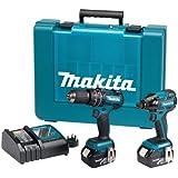 Makita DLX2002M 18V LXT Li-Ion Cordless Brushless Kit 2 x 4Ah Batteries (2 Pieces)