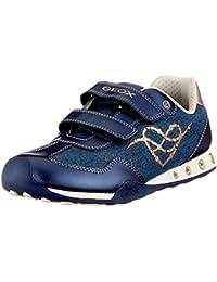 Geox Jr New Jocker D, Zapatillas para Niñas