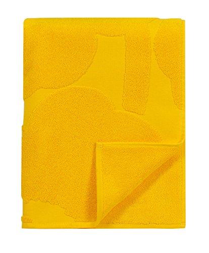 marimekko-unikko-solid-handtuch-50x100-cm-limitiert-gelb