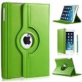 A & M Schutzhülle aus Leder für iPad Air 2 grün